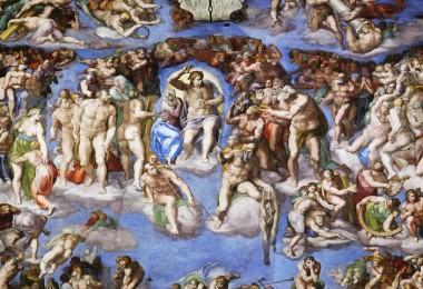 Vatican Museums,Sistine Chapel,The Last Judgment,Michelangelo)