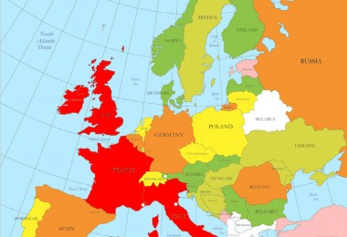 world map with states pdf New Map Europe Member States The EU Nations line Project With